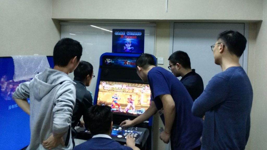 Tencent Arcade Machine Development